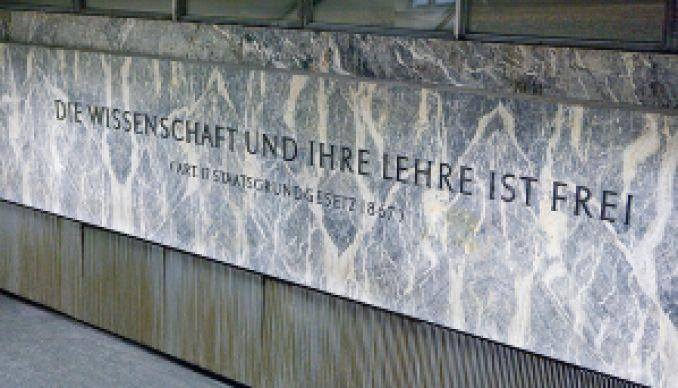 Im NIG. © Foto: Universität Wien